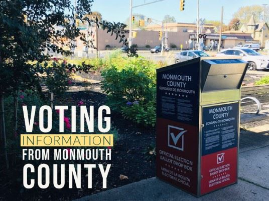 Photo with Voting Info from Monmouth County