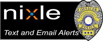 Nixle Text and Email Alerts